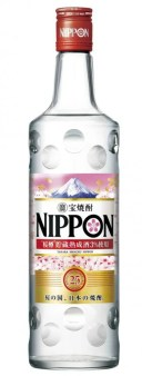 桜葉焼酎 宝焼酎 NIPPON ニッポン 25°700ml瓶 4本 京都府 宝酒造 送料無料