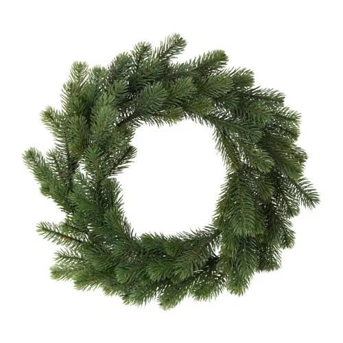 IKEA SMYCKA イケア クリスマス リース スプルース 703.265.14 【メール...