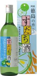 鳴門鯛 すだち酒 720ml 【徳島県】【箱無し】