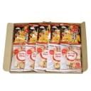 (全国送料無料) 前田製菓 前田のクラッカー(5コ)& 前田の焼とうもろこしクラッカー(5コ)セット メール便 (omtmb5576)