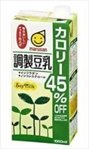 マルサンアイ 調製豆乳カロリー45%オフ 1000ml × 6本 ケース