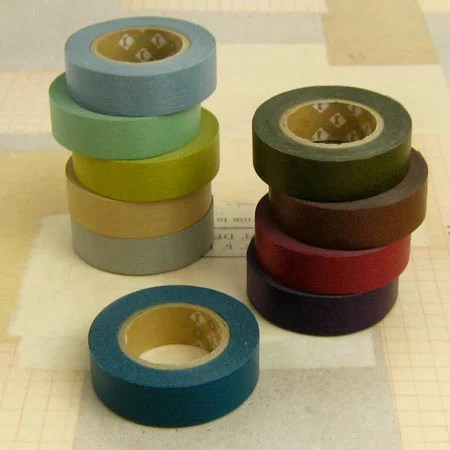マスキングテープ10色セット