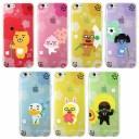 [KAKAO Friends Flower Jell Hard カカオ フレンズ フラワー ジェル ハード] iPhone SE 第2世……