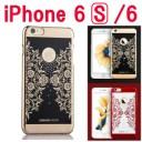 iphone6 ケース ゴージャス iPhone6s ケース レッド メッキ おしゃれ アイフォン iphone ケー……