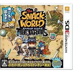 【新品/在庫あり】[3DSソフト] スナックワールド トレジャラーズ [CTR-P-BWSJ] 数量限定封入特典:限定ジャラ「クリスタルソードα」付属