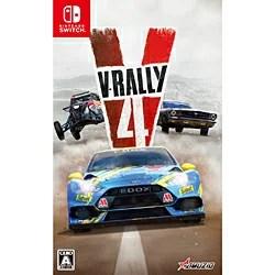 【新品/在庫あり】[ニンテンドースイッチ ソフト] V-Rally 4 (V-ラリー4) [HAC-P-AQALB]
