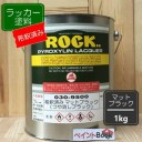 【シンナー希釈済み】マットブラック【1kg】つや消しブラック ラッカー塗料 ペンキ