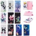 Xperia XZ Premium SO-04J ケース 手帳型ケース かわいい 蝶 パンダ 花柄 フクロウ 手帳型スマ……
