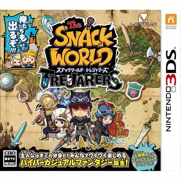 【新品】【3DS】 スナックワールド トレジャラーズ [CTR-P-BWSJ]