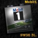 Mobil1 モービル1 エンジンオイルMobil SN / GF-5 5W-30 / 5W30 3L缶(3リットル缶)送料60サイズ
