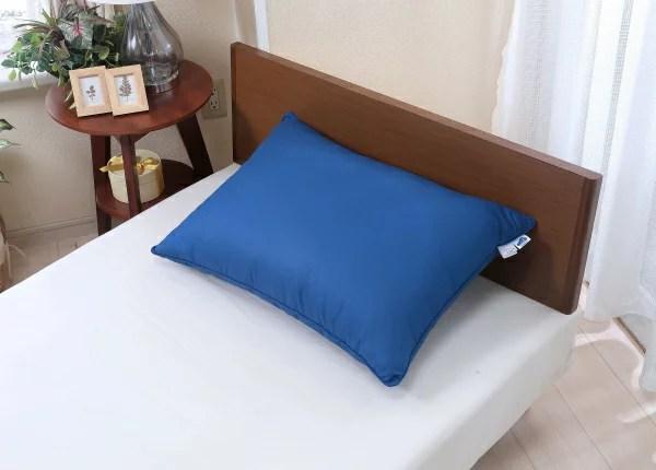 【あす楽対応】【大感謝価格 】UKIGUMO 枕 ブルー