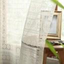 1cm刻みの カーテン オーダーカーテン レースカーテン 【最短5営業日で出荷】メンズカーテン ネイティブ レースカーテン 〜イーニッド..