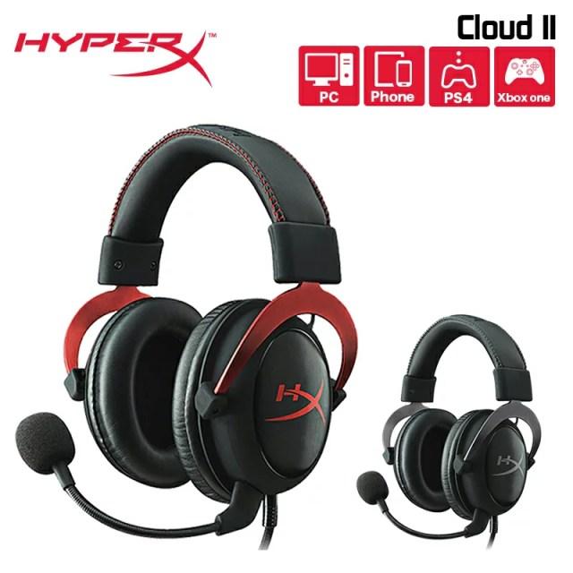 キングストン HyperX Cloud II ゲーミングヘッドセット KHX-HSCPシリーズ バーチャル サラウンド サウンド 7.ch 軽量 2年保証 Kingston PS4対応 xbox対応 高品質 人気 母の日 母の日2019