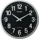 キングジム 電波掛け時計「ザラージ(黒文字盤)」 GDK−001K