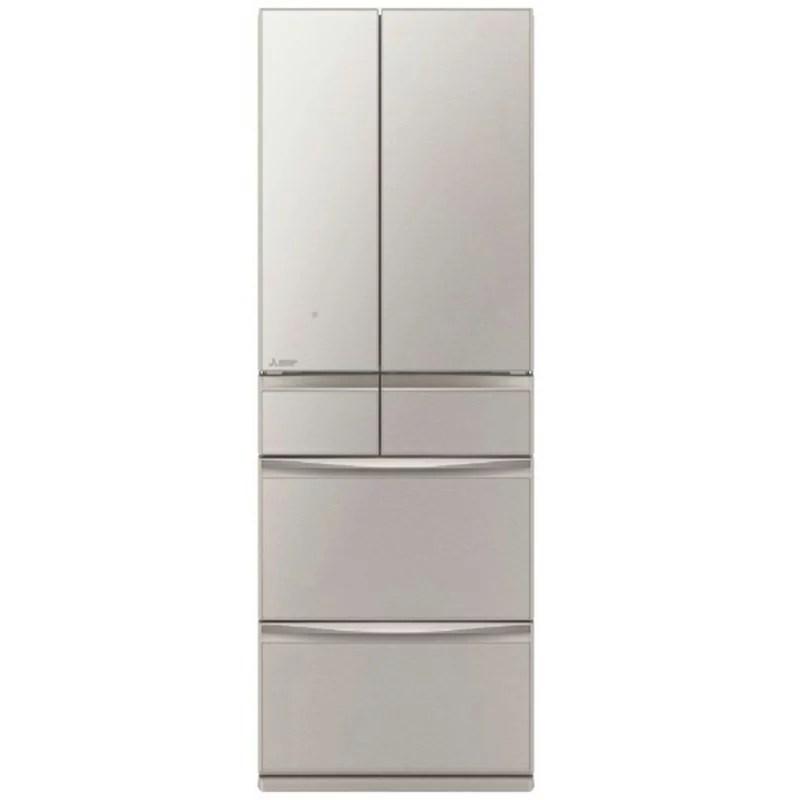 三菱 MITSUBISHI 6ドア冷蔵庫 【置けるスマート大容量】 MXシリーズ [フレンチドア/4