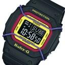 カシオ ベビーG プロテクター クオーツ レディース 腕時計 時計 BGD-501-1B ブラック