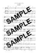 【ダウンロード楽譜】 ハリウッド・スキャンダル/中森明菜(ピアノ弾き語り譜 初級1)