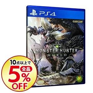 【中古】PS4 モンスターハンター:ワールド