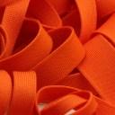 薄手ニットテープ ポリエステル 12mm オレンジ 9.14M巻 手芸 服飾 ラッピング FUJIYAMA RIBBON