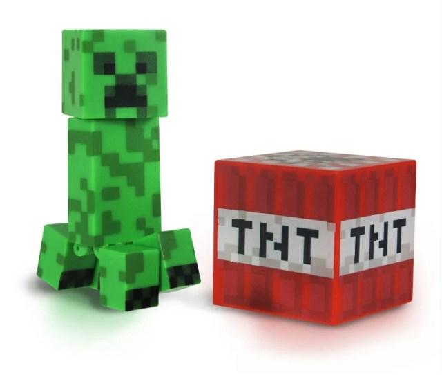 Minecraft 3インチ アクションフィギュア クリーパー マインクラフト Action Figure Creeper 人形 凸 匠