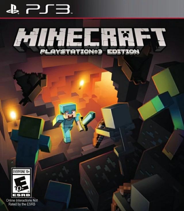 PS3 北米版 MINECRAFT PLAYSTATION 3 EDITION マインクラフト プレイステーション 3 エディション