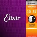 Elixir エリクサー アコースティックギター弦 ナノウェブ Extra Light [.010-.047] #11002 【国内正規品】【ゆうパケット対応】
