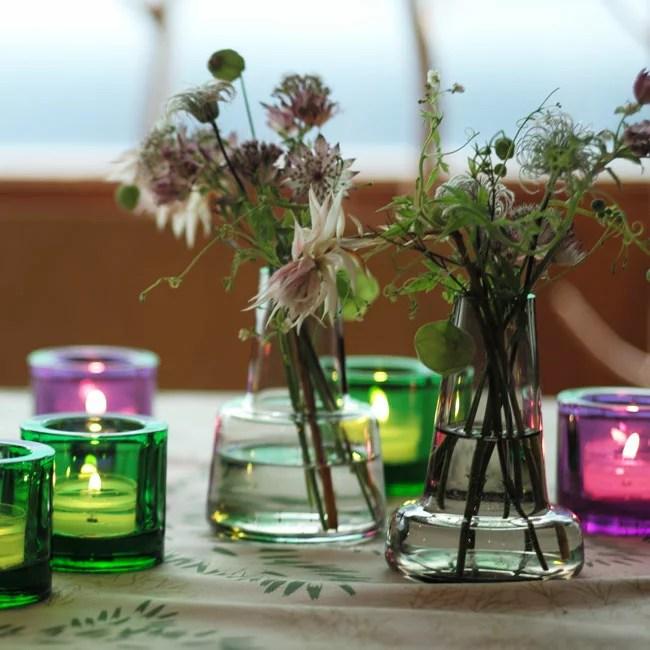 ホルムガード / フローラ ベース 12cm [Holmegaard / Flora vase]