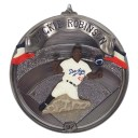 MLB ドジャース ジャッキー・ロビンソン クリスマス オーナメント 1997 Hallmark レアアイテム【1909プレミア】