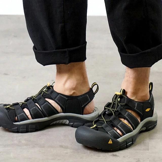 【即納】キーン ニューポート H2 ブラック サンダル 靴 KEEN Newport H2 (1001907)【コンビニ受取対応商品】