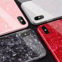 iPhoneXR iPhone10R ケース スマホケース 背面ガラス TPUバンパー ハードケース ソフトケース ……