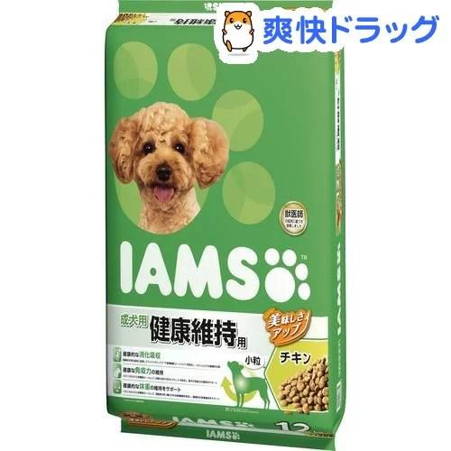 アイムス 成犬用 健康維持用 チキン 小粒(12kg)【IAMS1120_chkn05】【iamsd81609】【アイムス】【送料無料】