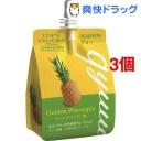 ブルボン ぎゅっ ゴールデンパイン味(150g*3個セット)