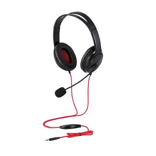 日曜 雑貨 エレコム ゲーム向け 4極 両耳オーバーヘット 1.0m 1.5m延長ケーブル付 PS4 Switch対応 ブラック HS-GM20BK