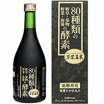 大木製薬野草酵素 草菜海果 500ML