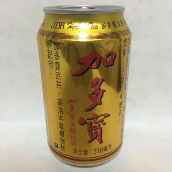 加多宝【中国伝統涼茶】茶飲料 ジャードゥオバオ 中国ナンバーワン健康茶 冷たい茶・漢方茶 ほんのり甘