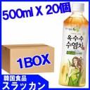 【ロッテ】とうもろこしのひげ茶500mlx1BOX(20個)