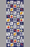 【中古】タオル・手ぬぐい(キャラクター) 格子模様 手ぬぐい 「大江戸銀魂ランド in 大江戸温泉物語」