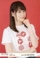 【中古】生写真(AKB48・SKE48)/アイドル/NGT48 西潟茉莉奈/上半身/劇場トレーディング生写真セット2016.June