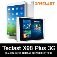 【全品ポイント5倍!!】【9.7インチ 9.7型】Teclast X98 Plus 3G DualOS 64GB 4GRAM T3 Z8300 BT搭載【2016年12月3日19:00〜8日1:59迄】05P03Dec16
