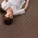 その他 【訳あり・在庫処分】mofua natural 防ダニ・ 抗菌防臭 ふんわりタオル地 敷パッド(東洋紡フィルハーモニィ(R)わた使用) キ..