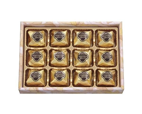 栗スイーツ クリスマス お歳暮 お菓子 プレゼント ギフト 詰め合わせ 個包装 スイーツ東京風月堂 マロングラッセ12個入