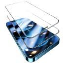 TORRAS 全面保護 iPhone 黒枠ガラスフィルム 2枚セット
