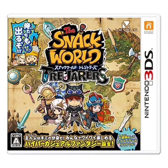 【3DSソフト】スナックワールド トレジャラーズ
