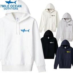 7MILE OCEAN メンズ プルオーバ パーカー ヘビー