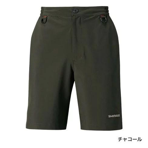 【シマノ】PA-062Q ライトドライショートパンツ チャコール  Lサイズ