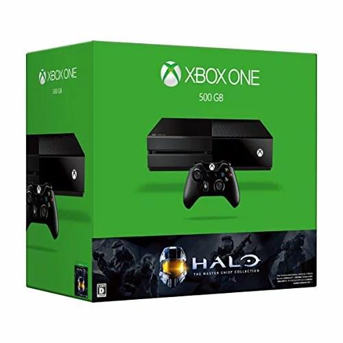 Xbox One 500GB (Halo: The Master Chief Collection 同梱版) 5C6-00098 【メーカー生産終了】[cb]