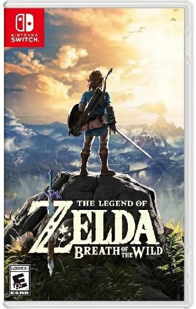 SW The Legend of Zelda:Breath of the Wild(レジェンドオブゼルダ:ブレスオブワイルド 北米版)〈Nintendo〉3/3発売[新品]