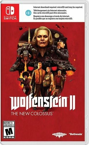 SW WolfensteinII:TheNewColossus(ウルフェンシュタイン: ザ ニューコロッサス 北米版)〈Nintendo〉[新品]