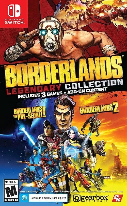 SWITCH Borderlands Legendary Collection 北米版[新品]