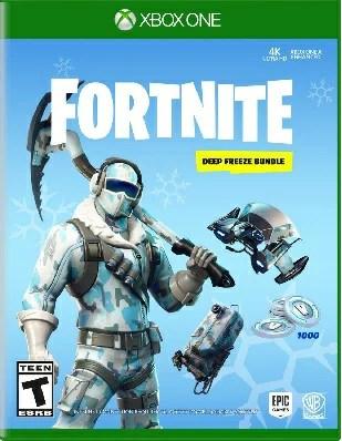 XboxONE Fortnite:Deep Freeze Bundle(フォートナイトディープフリーズバンドル 北米版)〈Warner Bros〉[新品]